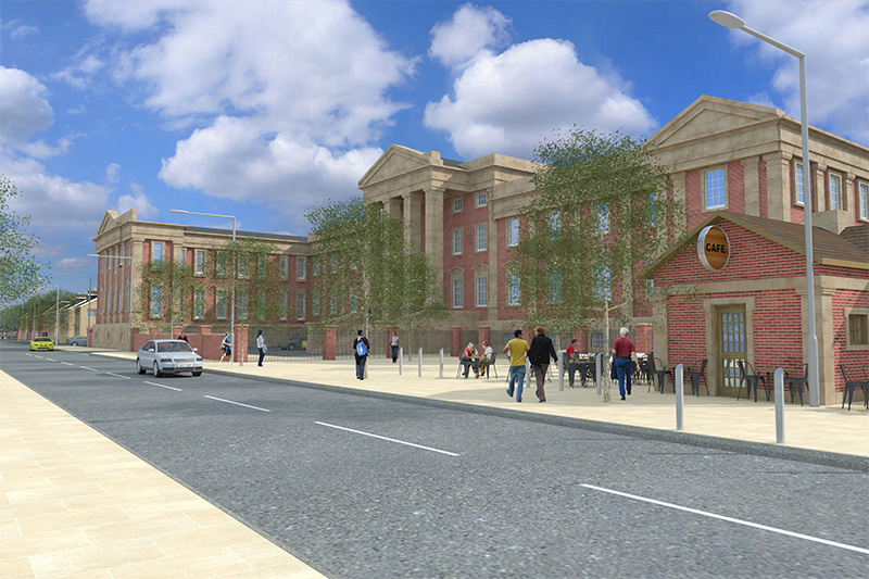 Major boost for former Royal Hospital site