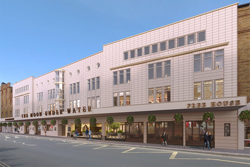 Wetherspoon submit expanded plans for city project