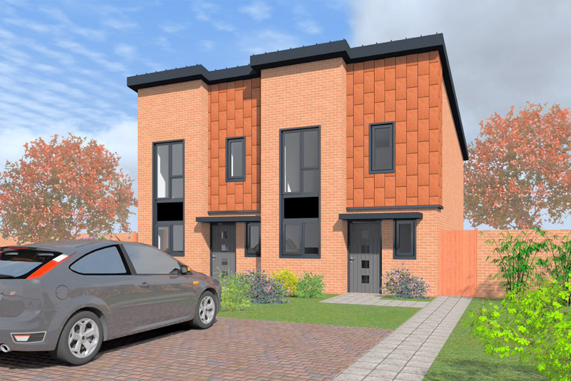 Application submitted for phase 2 Heath Town homes